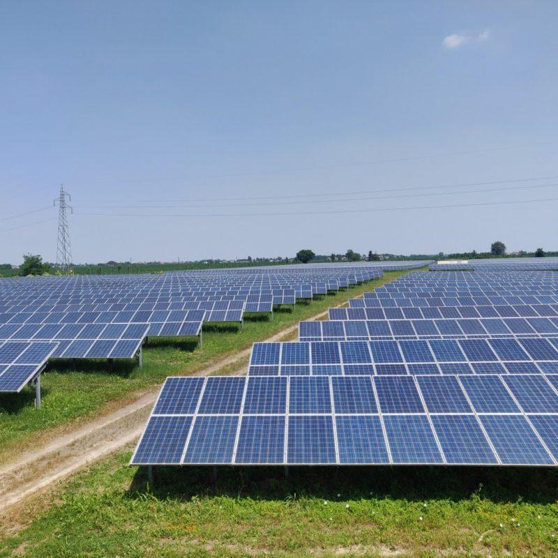 Sonnedix Solar Adria I PV plant Italy. Image: Sonnedix.