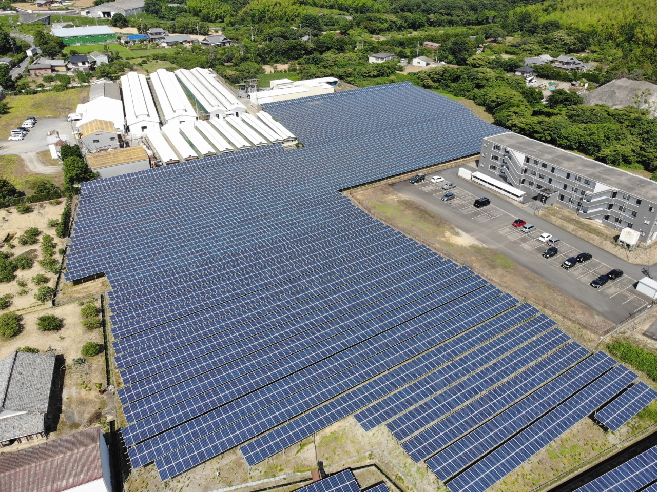 Sonnedix closed financing on a 2.3MW solar park in Mei prefecture, Japan, at the end of 2020 Image: Sonnedix