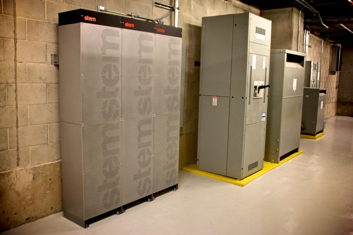 Some behind-the-meter storage plays into RTO and ISO markets already. Image: Stem Inc.