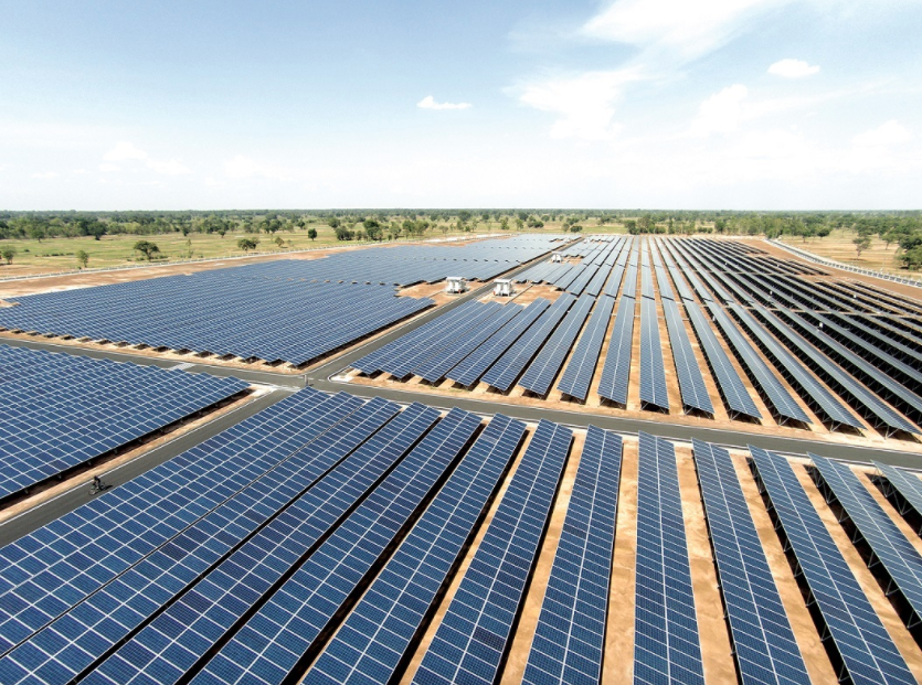 A Sterling & Wilson project in Australia. The company claims to now be in its 10th GW of projects delivered as well as having more than 7GW of operating PV plants under its management. Image: Sterling & Wilson.