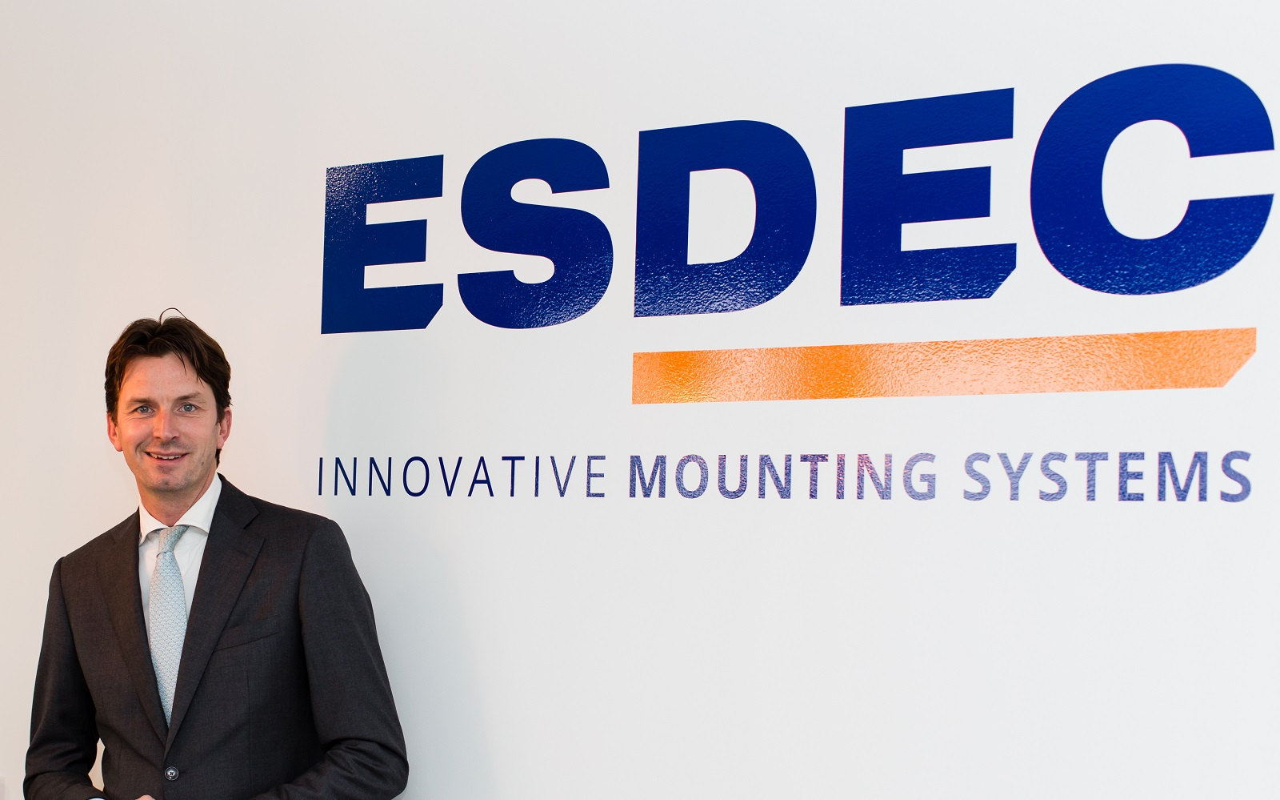 Stijn Vos, CEO at Esdec. Image: Esdec.