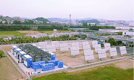 The 32MW project is expected to be completed in December 2018. Image: Sumitomo Corporation