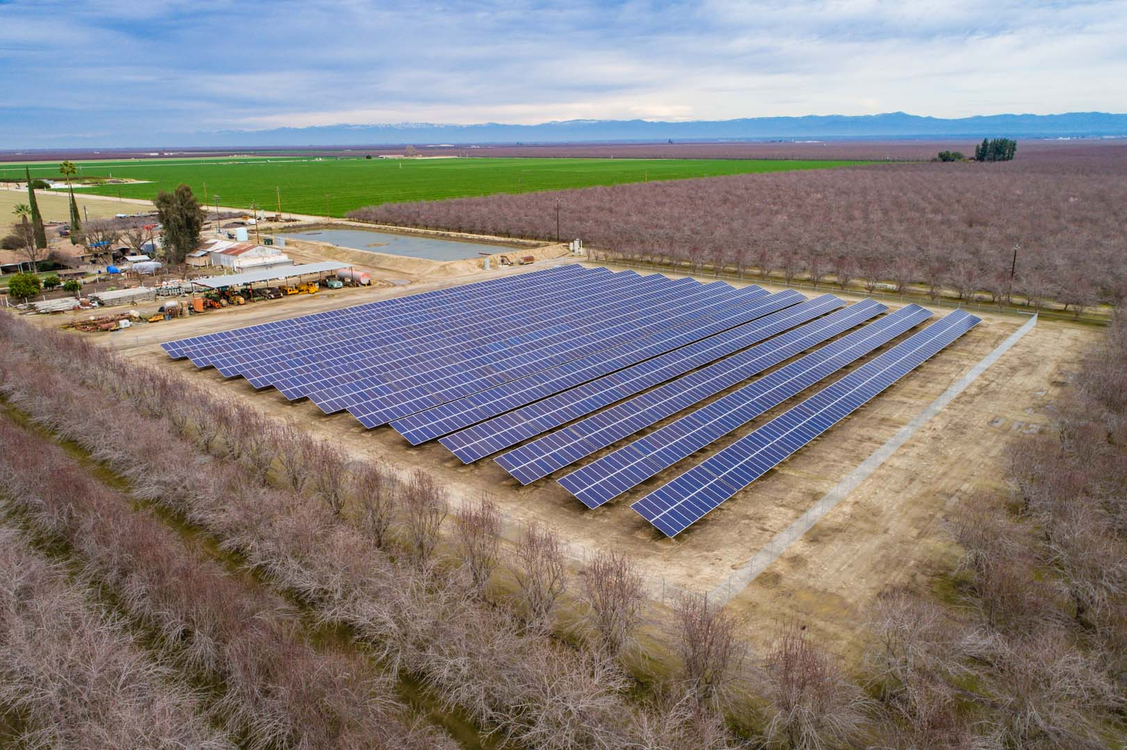 669 kW GeoPro Ground Mount Fixed-Tilt Solar System in Wasco, CA out of Kern County. Source: Business Wire