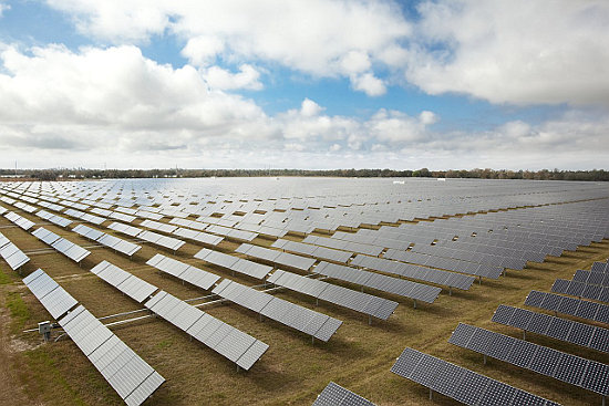 SEG did highlight SunPower's pipeline of projects spanned 16 US states. Image: SunPower