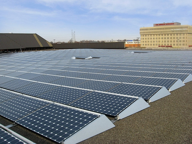 Part of California's Assembly Bill 693 seeks to fund solar on rooftops for multi-family dwellings. Image: SunPower.