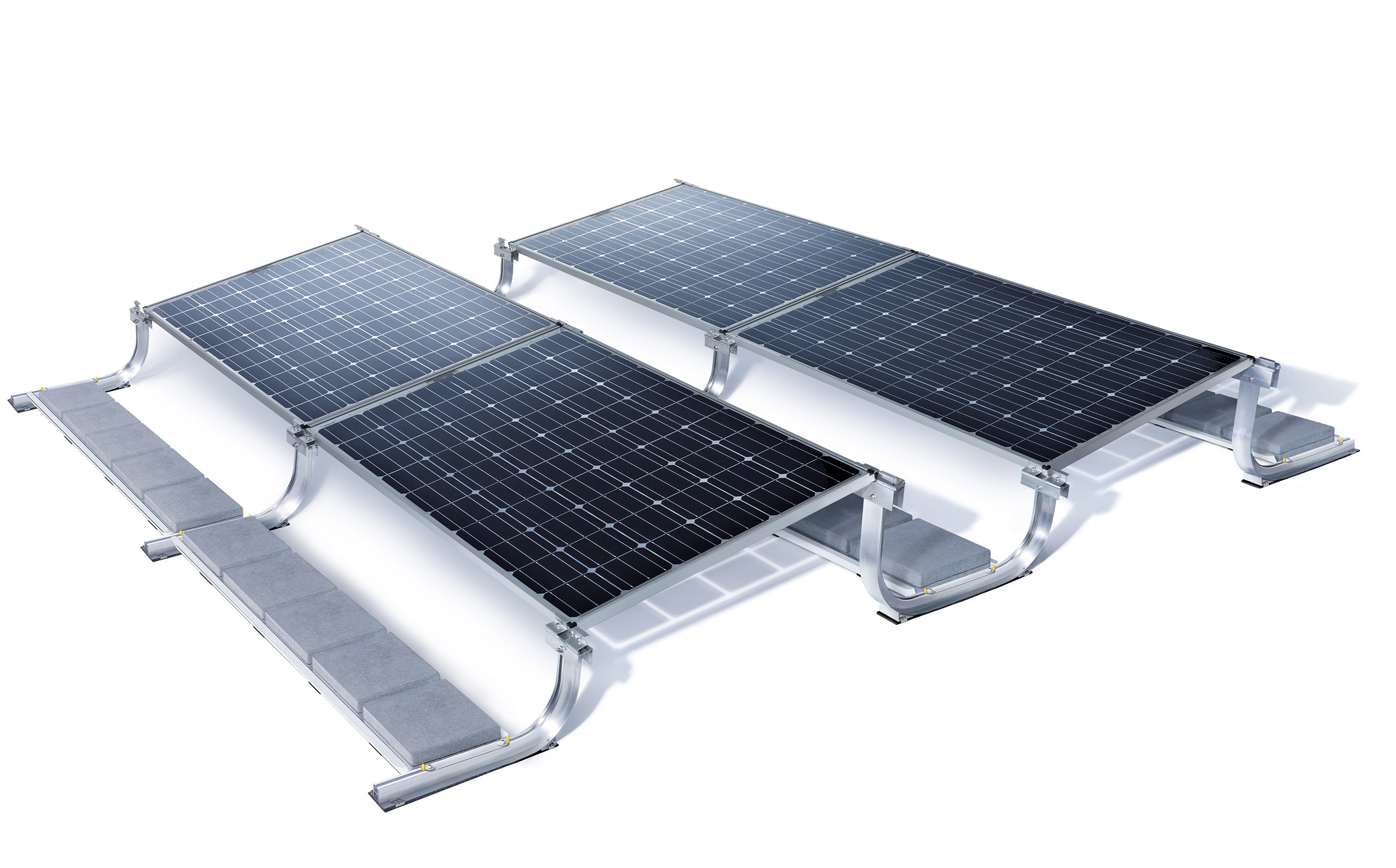'Sunmodule Bisun' is a solar module active on both sides (bifacial) that converts light from all directions into electrical energy was also recently launched by SolarWorld