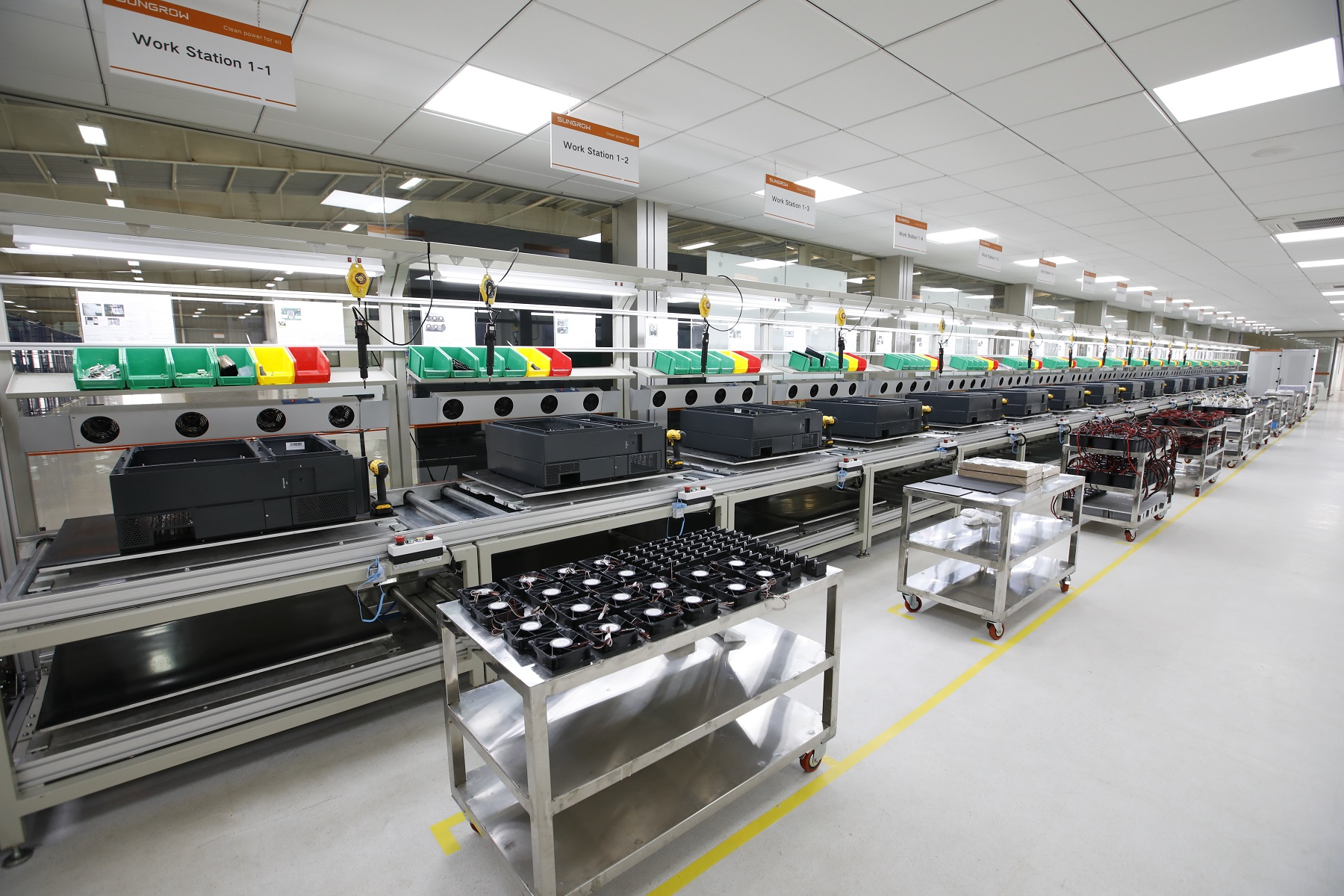 The new facility has an annual capacity of 3GW. Source: Sungrow.