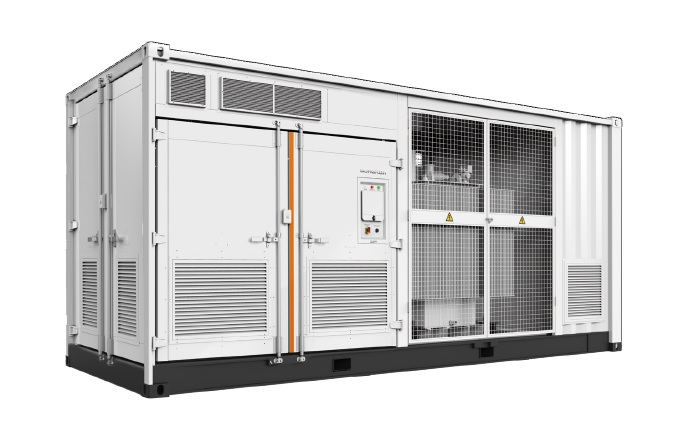 Sungrow said that it would be supplying its 1500 Volt turnkey central inverter stations, SG3125HV-MV to the project, specifically modified for the energy storage systems, which include a 27MW/30MWh of storage via its standard 2.5 MW-1 Hour ESS system to the project. Image: Sungrow