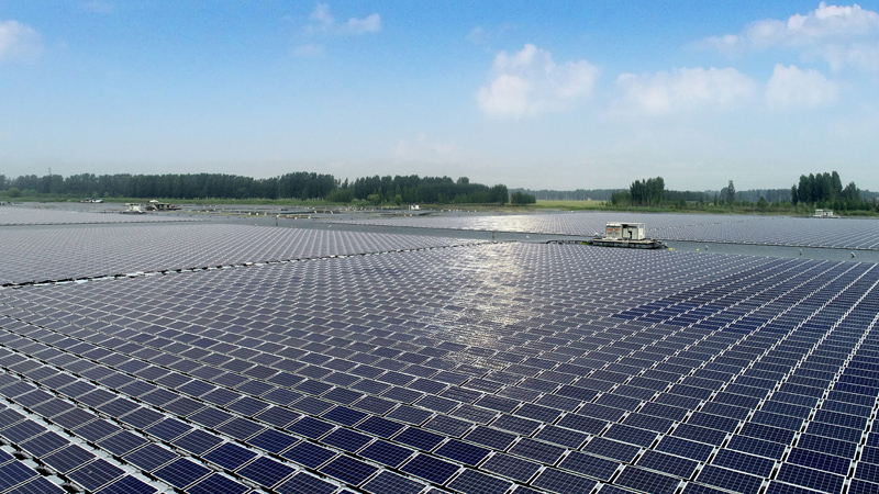 Floating photovoltaic joint industry project plans verified recommended practice to be ready by Q1 2021. Global consortium includes some of leading players from all areas of the floating solar power value chain. Image: Sungrow Power