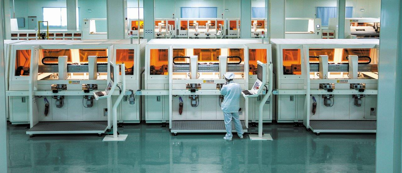 he Chinese factory will produce an annual 3.3 million solar panels. Image: Eurotron