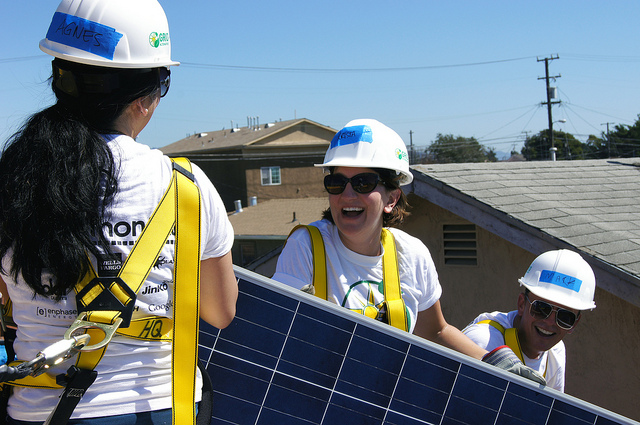 Sunrun will own, operate, maintain and insure the solar panels; GRID Alternatives will install the solar systems and fund each customer's prepaid 20-year solar PPA or lease. Source: GRID Alternatives