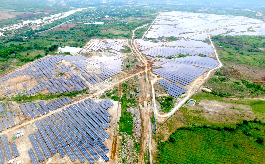 The PV power plant was said to have been commissioned as part of a 20-year solar power PPA inked in the second-half of 2018, selling electricity at a solar feed-in tariff of US$9.35 per kilowatt hour and met deadlines of June 30th for the tariff. Image: LONGi Solar