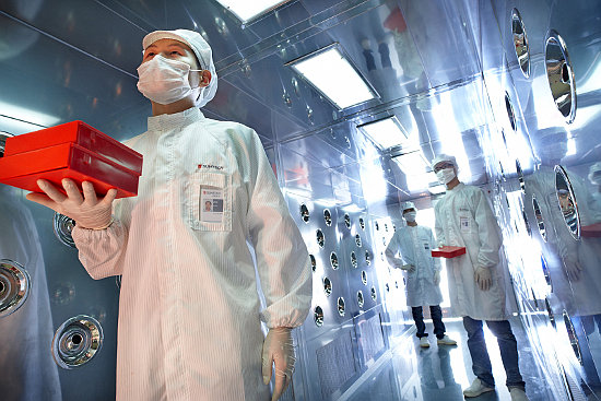 The agreement includes a total of 500MW of solar wafer production capacity, 4,900MW of solar cell capacity and 3,000MW of module assembly capacity. Image Wuxi Suntech
