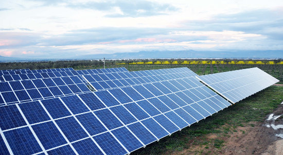 The reports noted that the Carabinieri for Environmental Protection estimated that the scam garnered around €40 million for the people involved. Image: PV Power Plant built by Suntech during Italian boom for solar installations.