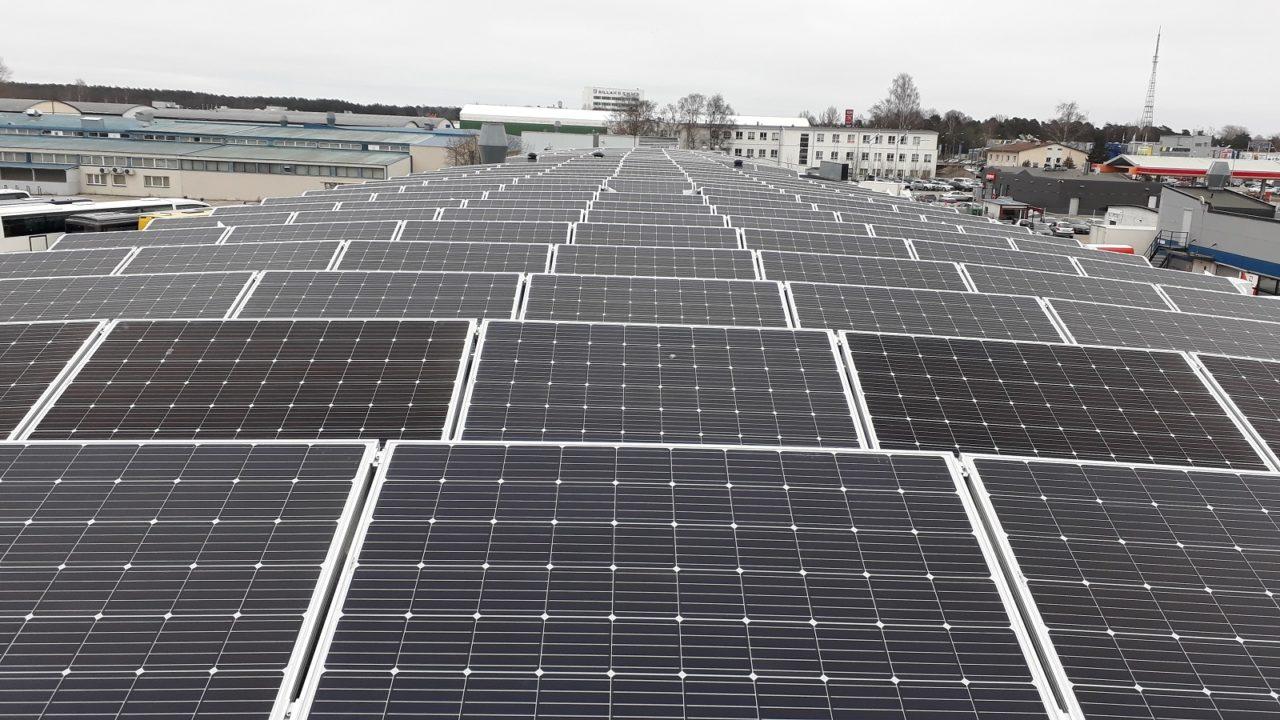 The SunWave install in Estonia. Credit: SunWave/Hoymiles.