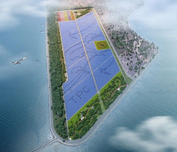 PV Tech recently reported that the state-run utility Taiwan Power Co (Taipower) had held a ground-breaking ceremony for the 100MW PV power plant at Chuanghua Coastal Industrial Park, Changhua County, which included the planned installations of around 339,000 solar panels at a cost of approximately US$211 million. Image: Taipower