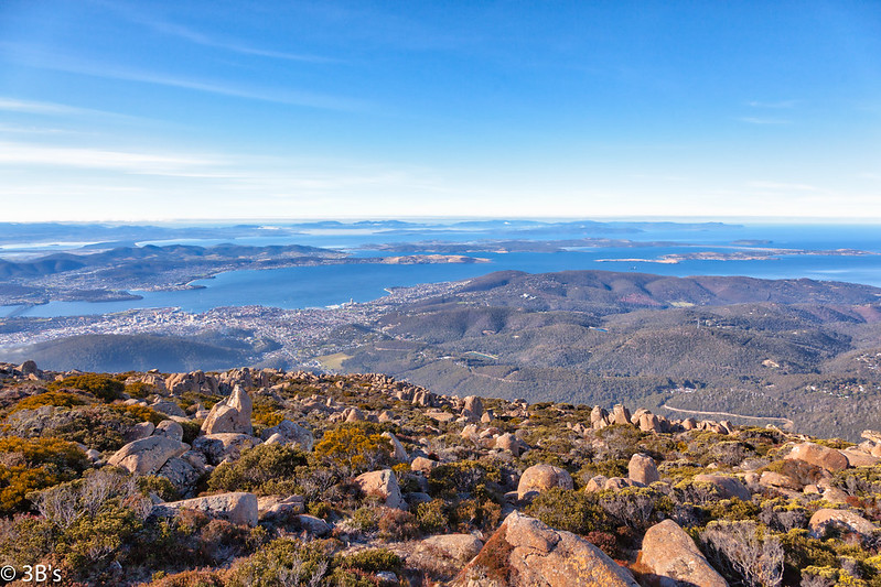 The view from Mount Wellington, Tasmania. Source: Flickr, The 3B's