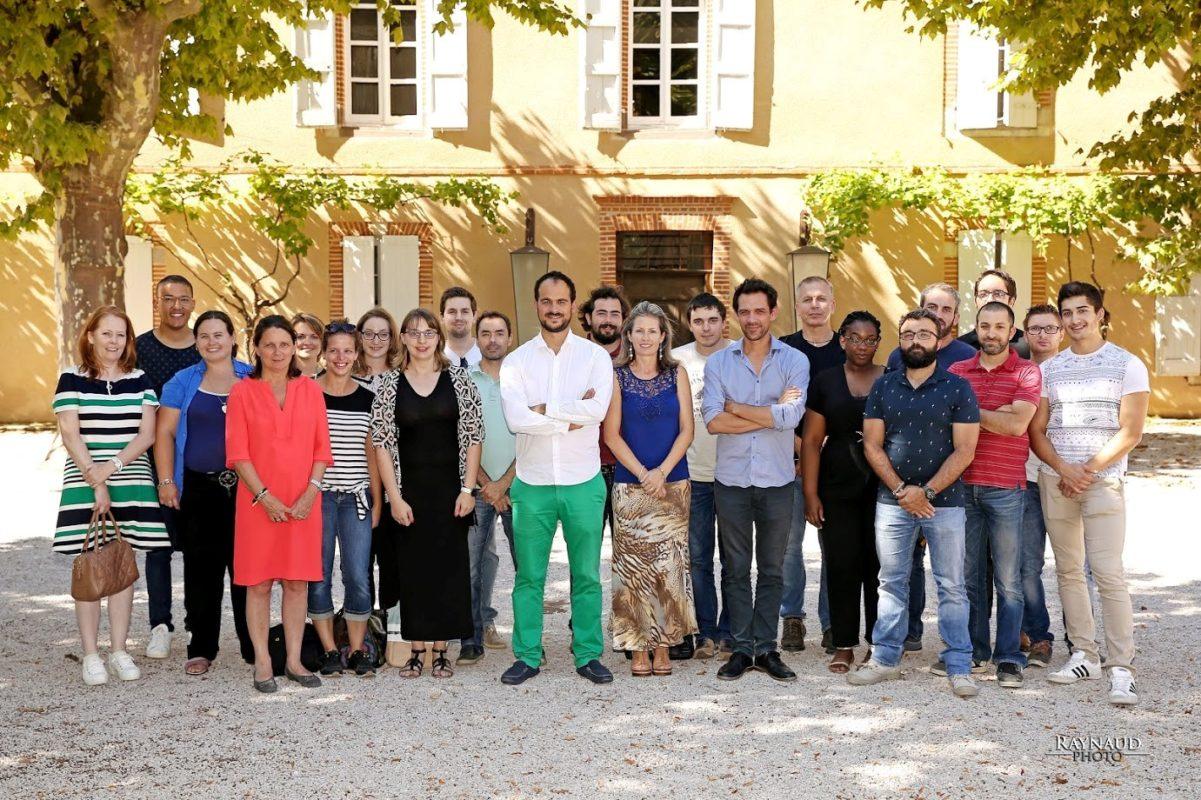 The new team of Amarenco France. Credit: Amarenco