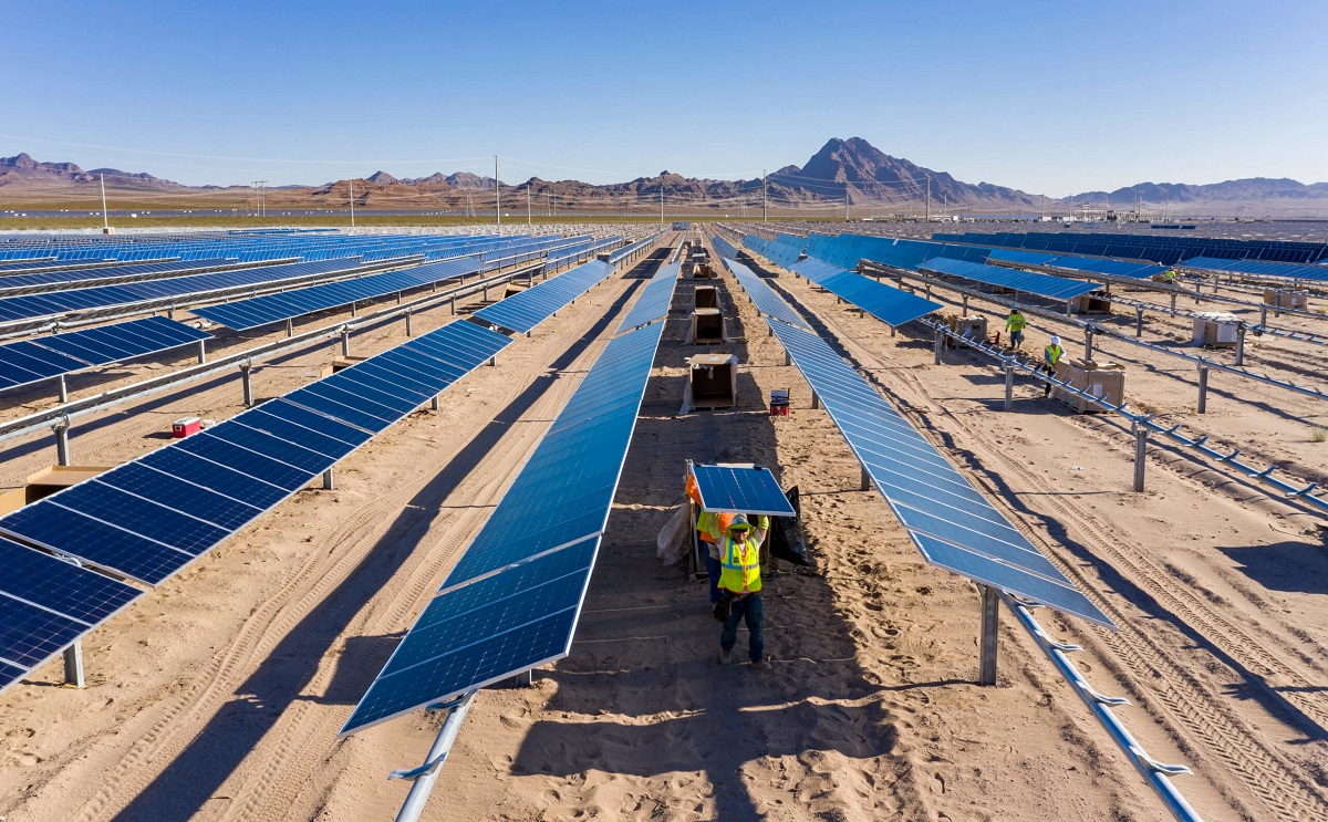 As greater quantities of solar are connected, grids must modernise effectively.  Credit: Nextracker