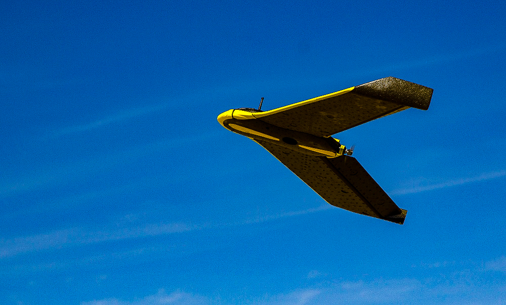 These drones are able to cover an area of 20 to 32 hectares in an hour. Image: TerraSmart