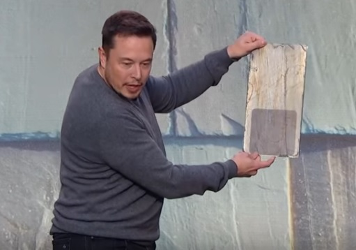 Only a cursory mention was given to Tesla's solar roof tile during its Q2 2020 results. Image: Tesla.