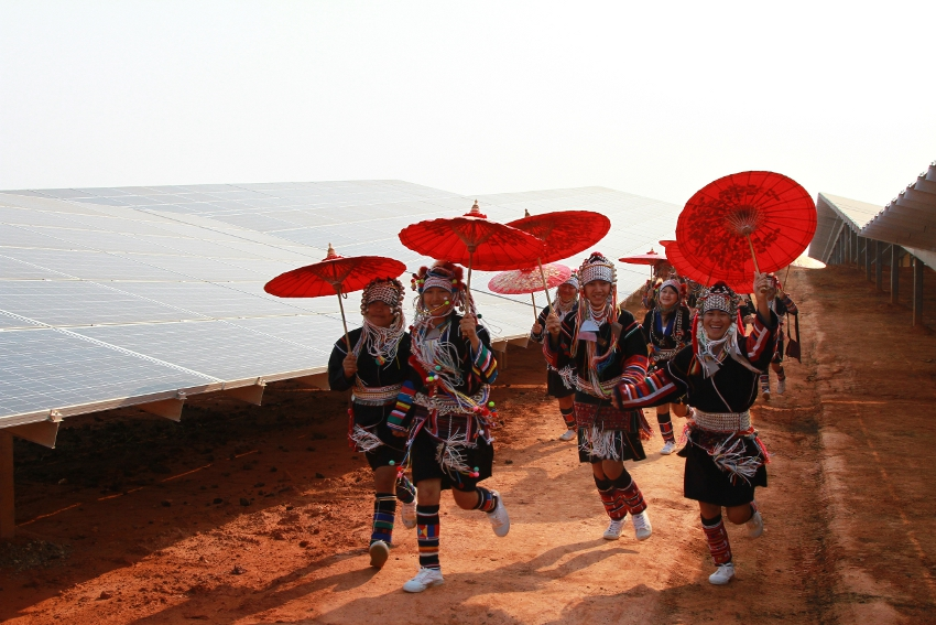 Sonnedix PV project in Thailand. Image: Sonnedix.