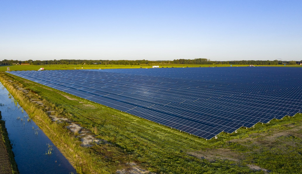 The project will source energy from a 50MWp solar farm previously built by GroenLeven. Image: BayWa r.e.