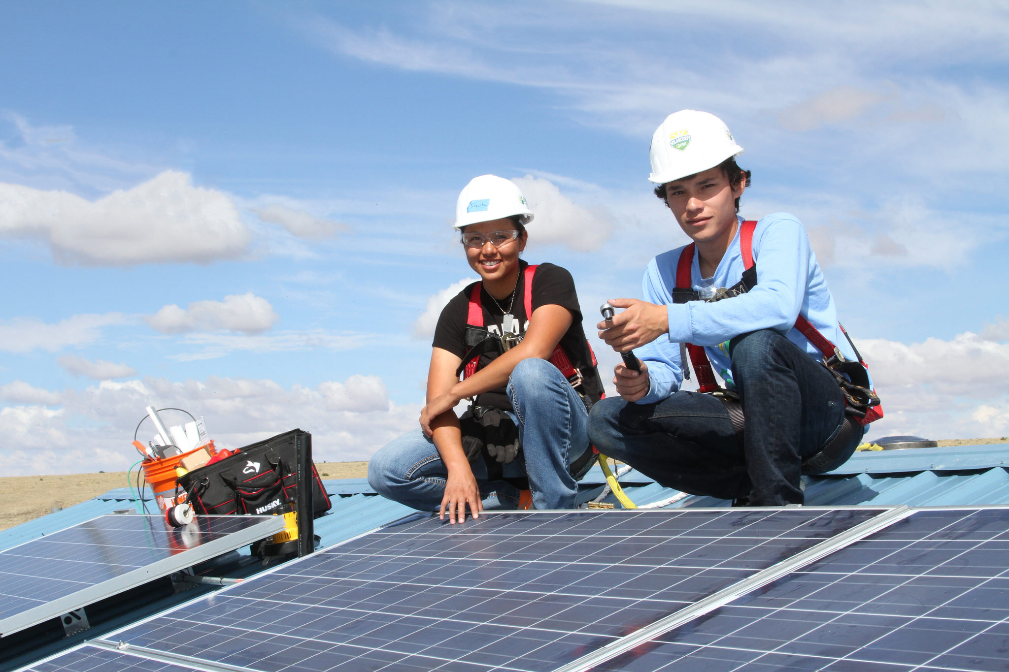 Wells Fargo's donation will be received by GRID Alternatives and will support the founding of GRID's new Tribal Solar Accelerator Fund. Image: Wells Fargo