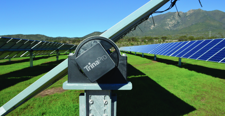 Trina Solar will supply 560,000 units of its TSM-PE14H multicrystalline half-cut cell modules, combined with 6,206 single-axis tracker units. Credit: Trina Solar