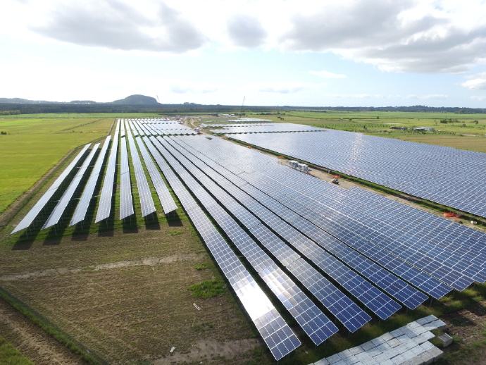 The farm will enable the Sunshine Coast Council to become Australia's first local government to offset 100% of its electricity. Source: PR Newswire