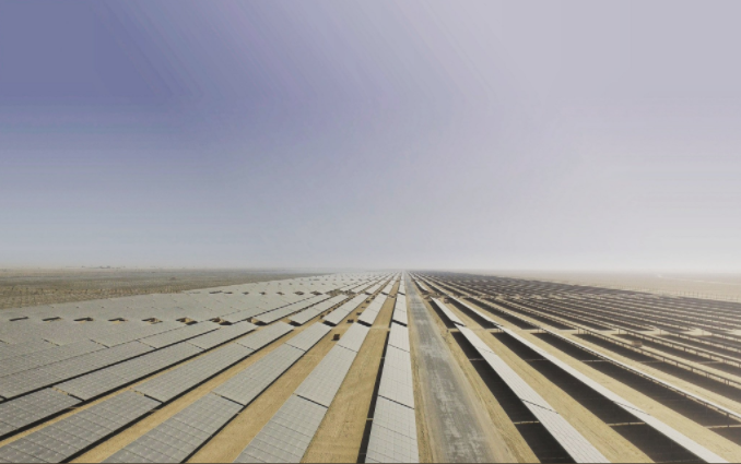 Back in January, PV Tech blogged about how bifacial technology was the likely reason the world's lowest ever solar bid was rejected. Credit: ACWA Power / Twitter