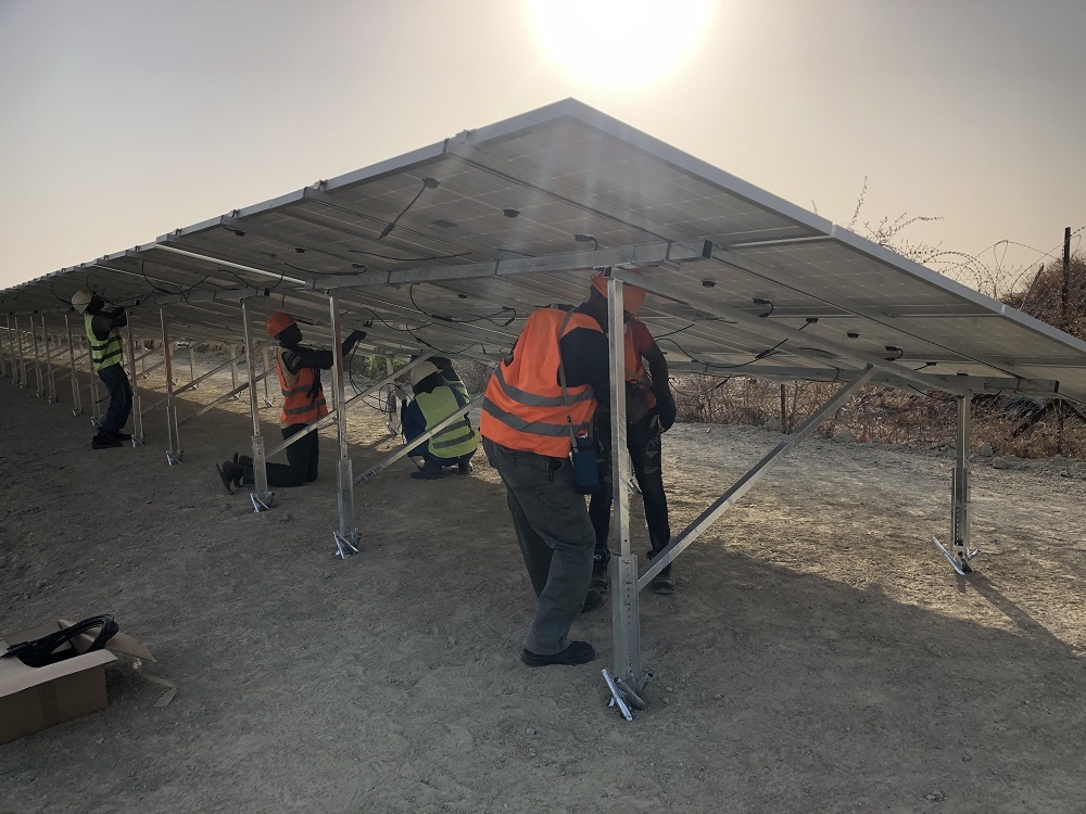 The project as it neared completion. Image: Omar Patan, IOM, Twitter.