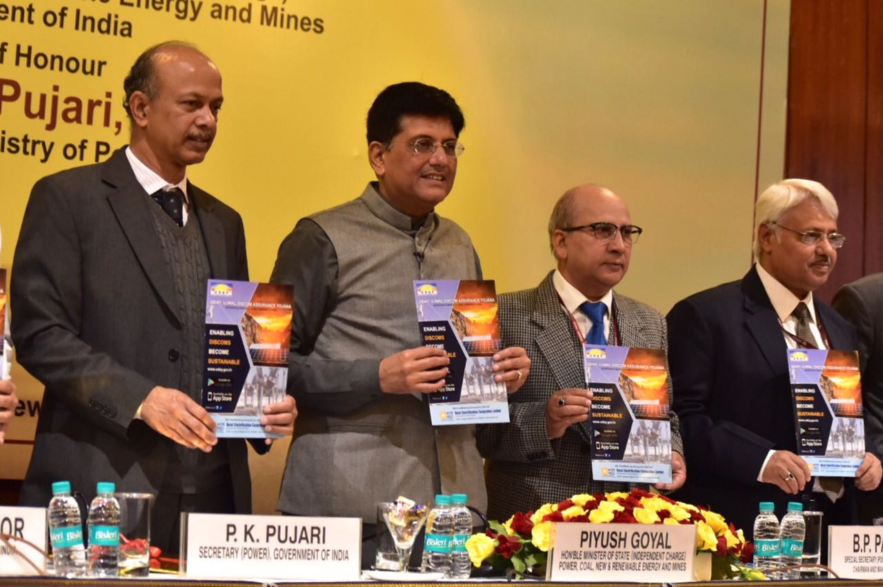 There are now 20 states and union territories in the Ujwal Discom Assurance Yojana (UDAY) scheme. Credit: Ministry of Power