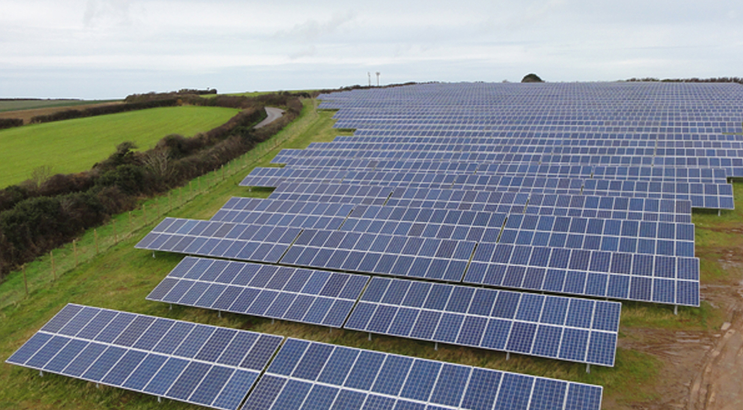 A Martifer solar farm in the UK. Source: Martifer Solar.