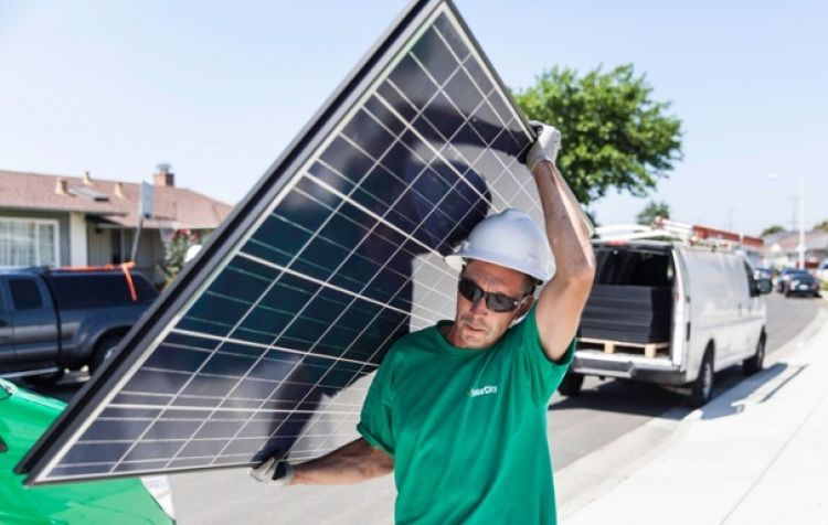 The residential sector looks to be back in black. Source: SolarCity/Tesla.