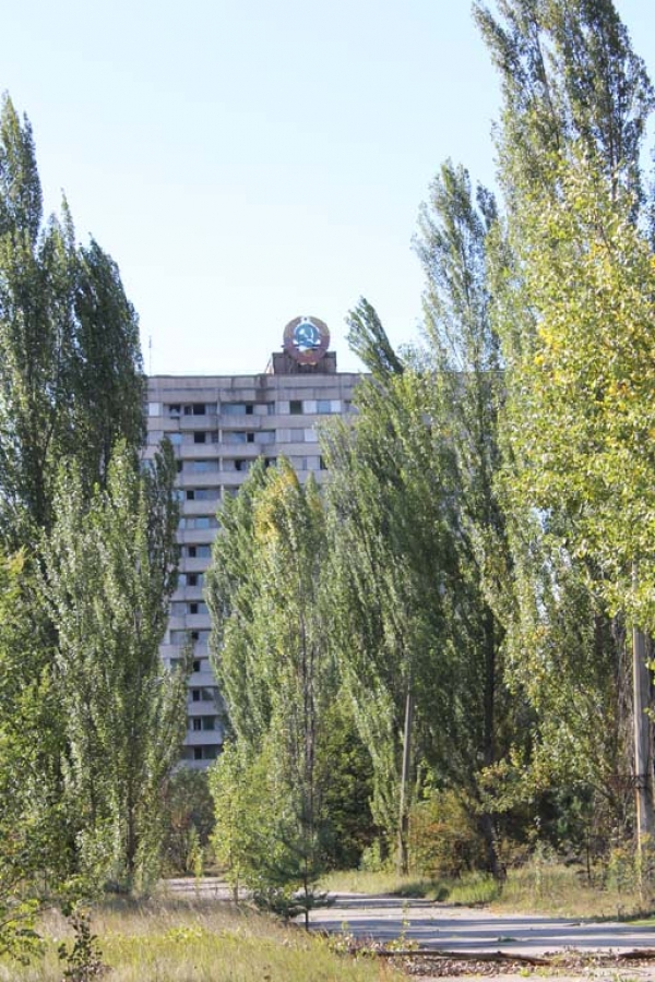 The town of Pripyat, only a short distance from the reactor, was home to around 50,000 inhabitants, but was hastily evacuated a day after the explosion.