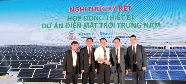 The project is expected to start commercial operation in June 2019. Credit: Arctech Solar