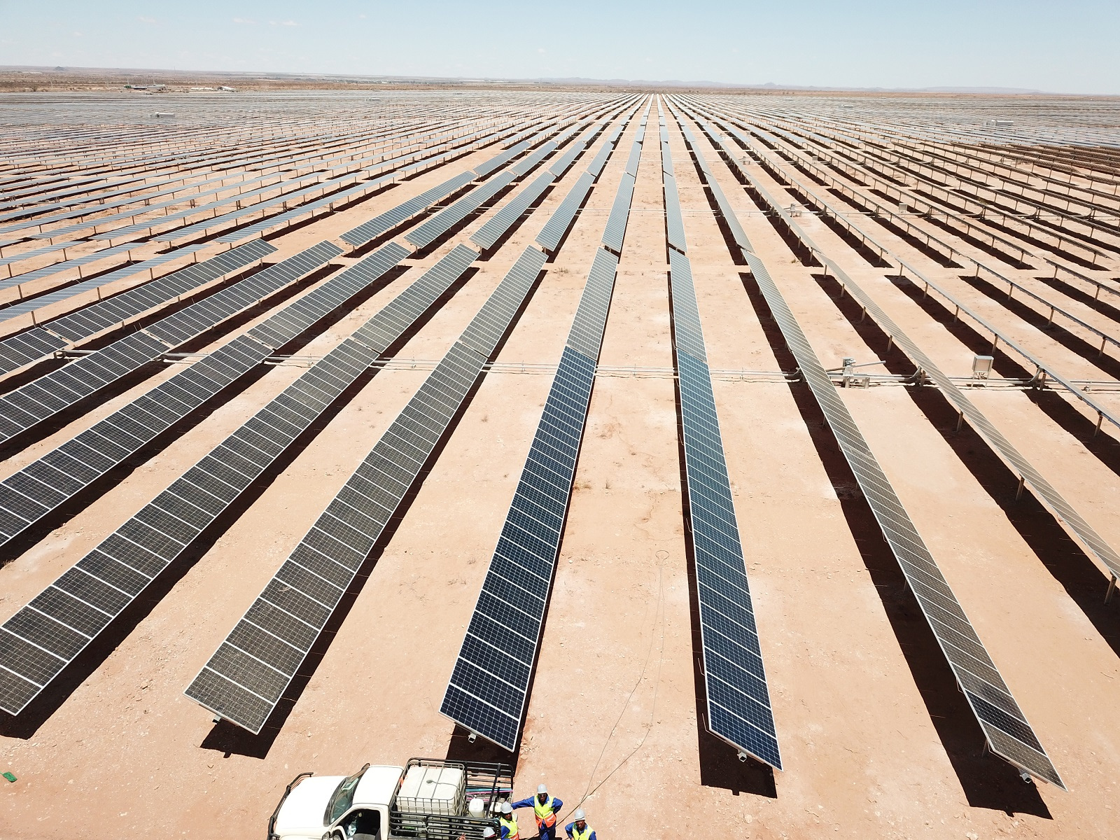 The Upington Solar Complex completed by Scatec Solar. Image: Scatec Solar.
