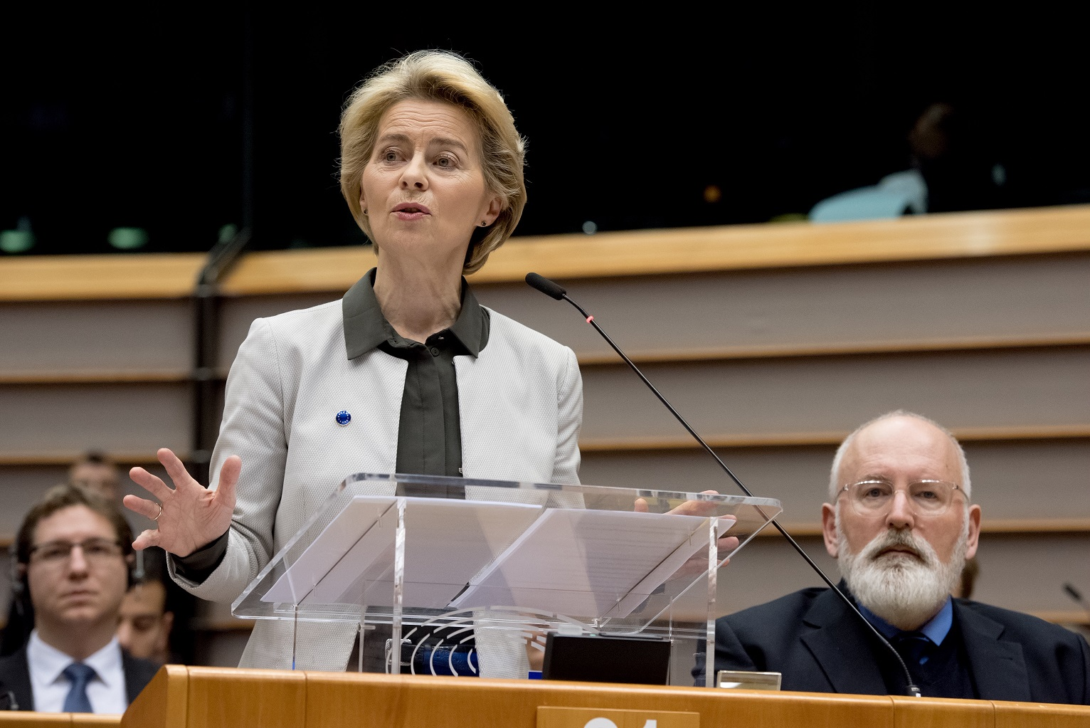 Ursula von der Leyen was chosen to head up the European Commission in July and presented the new green plan this week. Image credit: European Commission