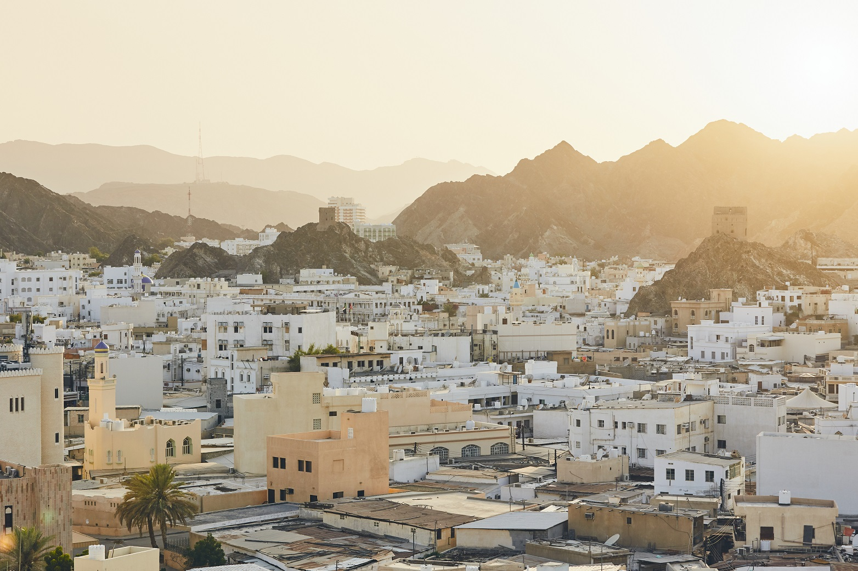 Muscat, Oman.  Source: iStock.com/Chalabala