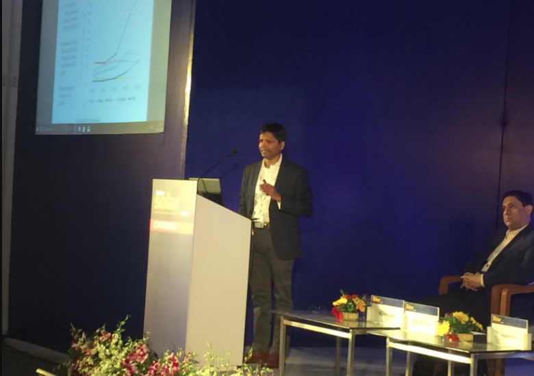 Vinay Rustagi, managing director of consultancy firm Bridge to India, looks at the troubles facing Indian solar right now. Credit: Tom Kenning