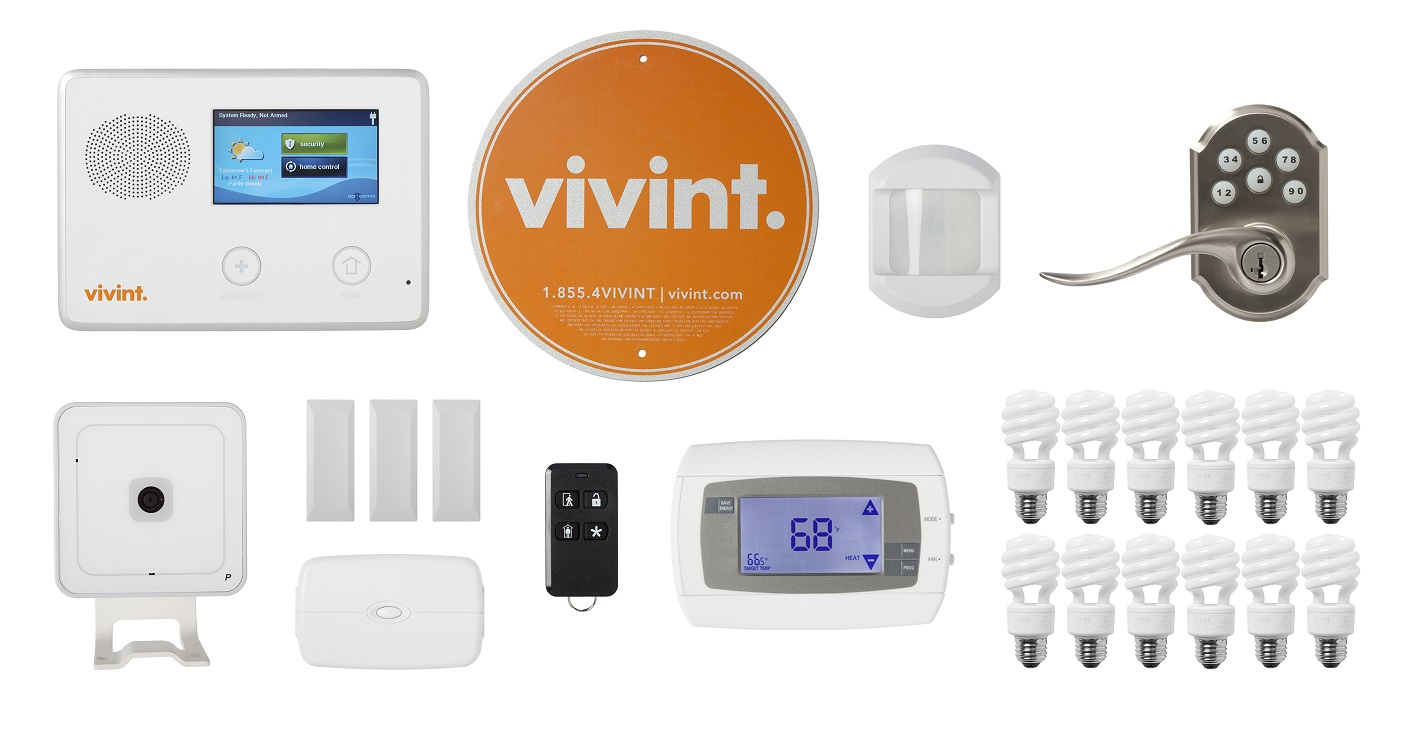 In addition to solar and energy storage, Vivint has made a play to offer a full range of home automation and smart home kit components. Image: Vivint.