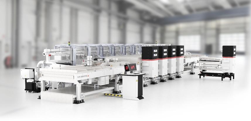 The Von Ardenne wafer coating system XEA|nova L8. Image: Von Ardenne