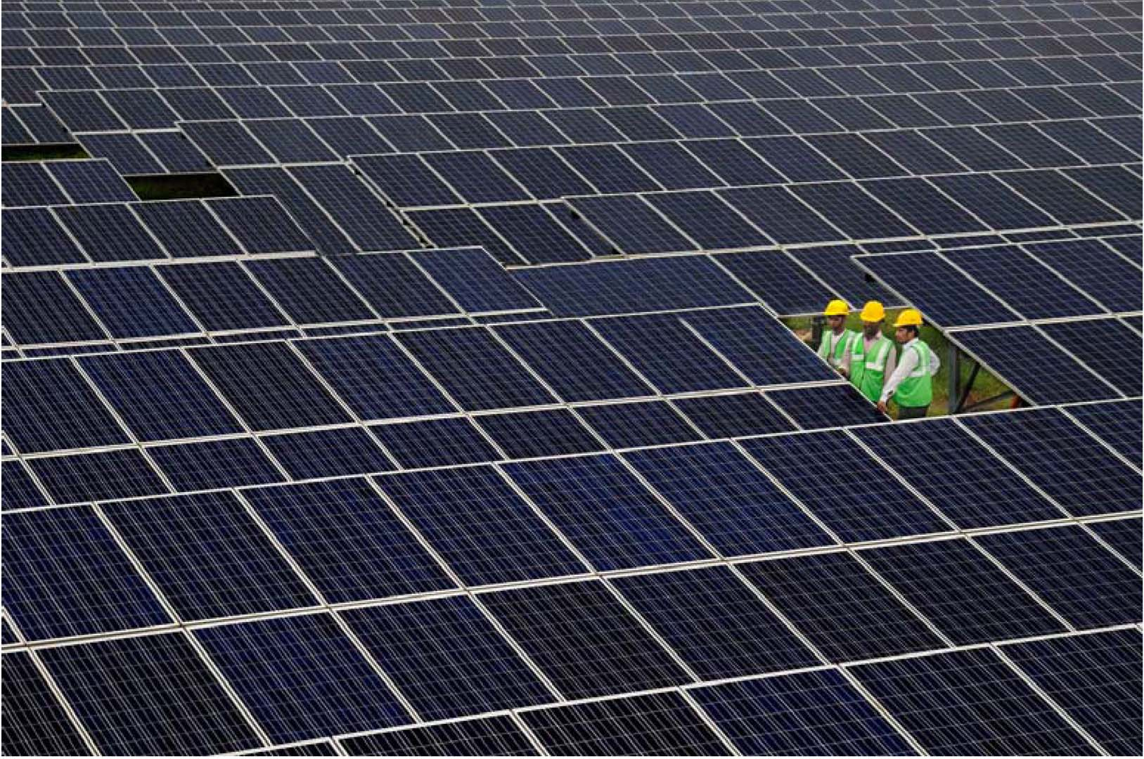 India is expected to overtake Japan as the third-largest market globally. Credit: Welspun Renewables.