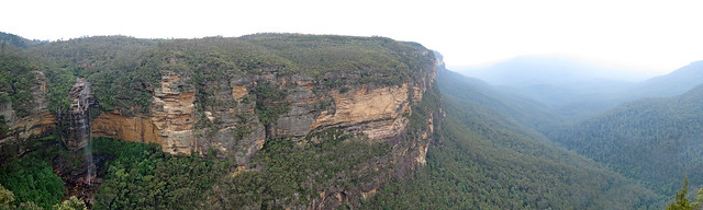 Wentworth Falls, Blue Mountains, New South Wales. Source: Robert Lindsell, Flickr