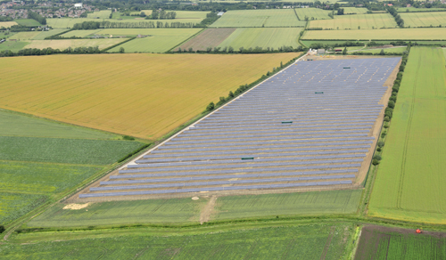 UK developer Solarcentury said it completed 140MW of projects ahead of next year's drop in support. The company has also diversified into overseas markets including the Americas and Africa. Image: SolarCentury.
