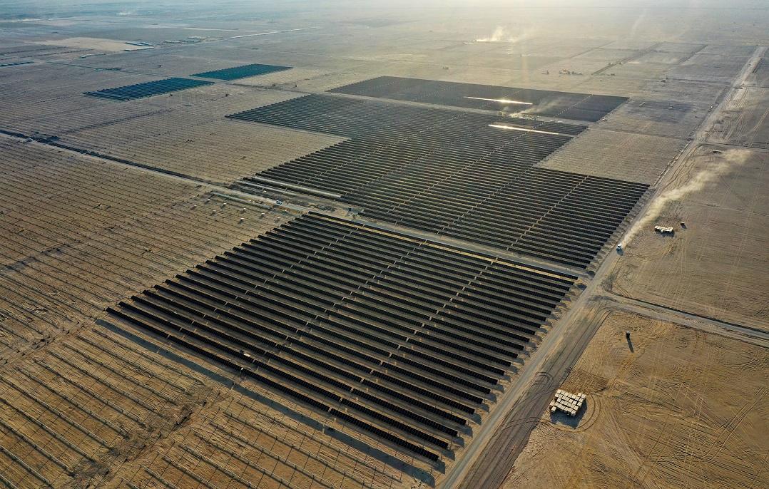 A solar plant featuring Yingli's PANDA bifacial modules. Image: Yingli Energy (China).