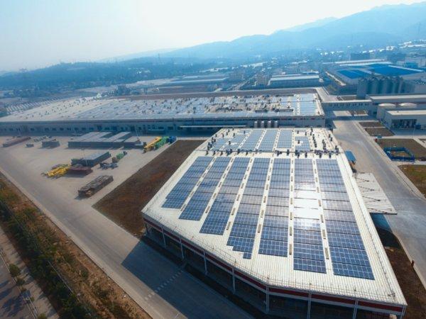 The Yunnan installation is set to save AB InBev 38,000 CO2 tonnes (Credit: AB InBev / ACC)