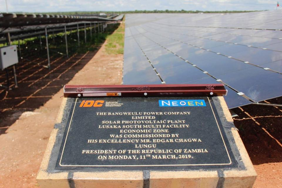 Neoen, First Solar's successful bid for the project came at a price of 6.02 cents/kWh (Credit: Zambian government)