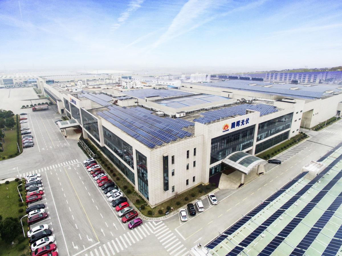 Jiangsu Zhongli Group has approved a plan to raise around US$222 million in a non-public offering to build an 1GW integrated heterojunction (HJT) plant. Image: Talesun